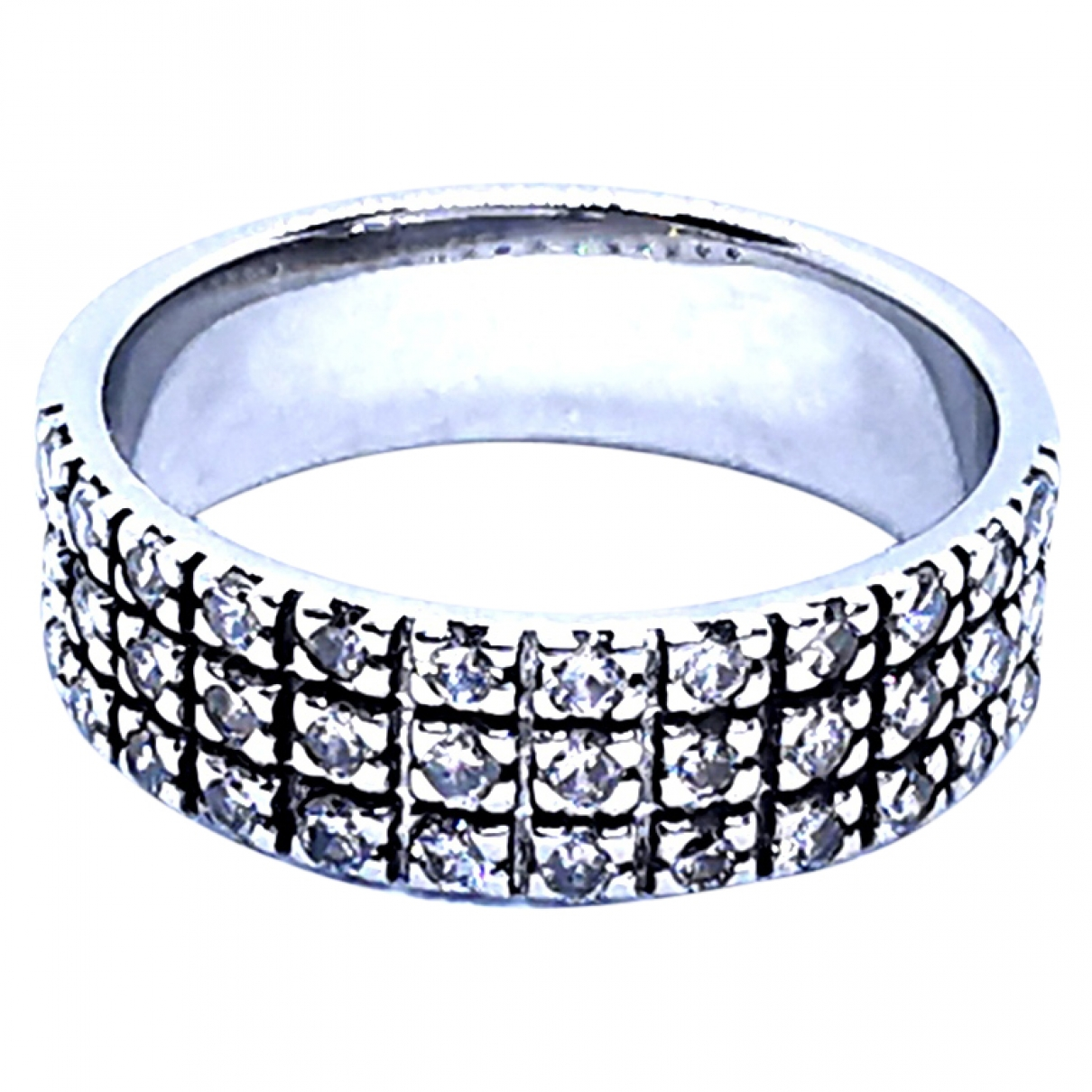 Autre Marque \N Ring in  Silber Silber