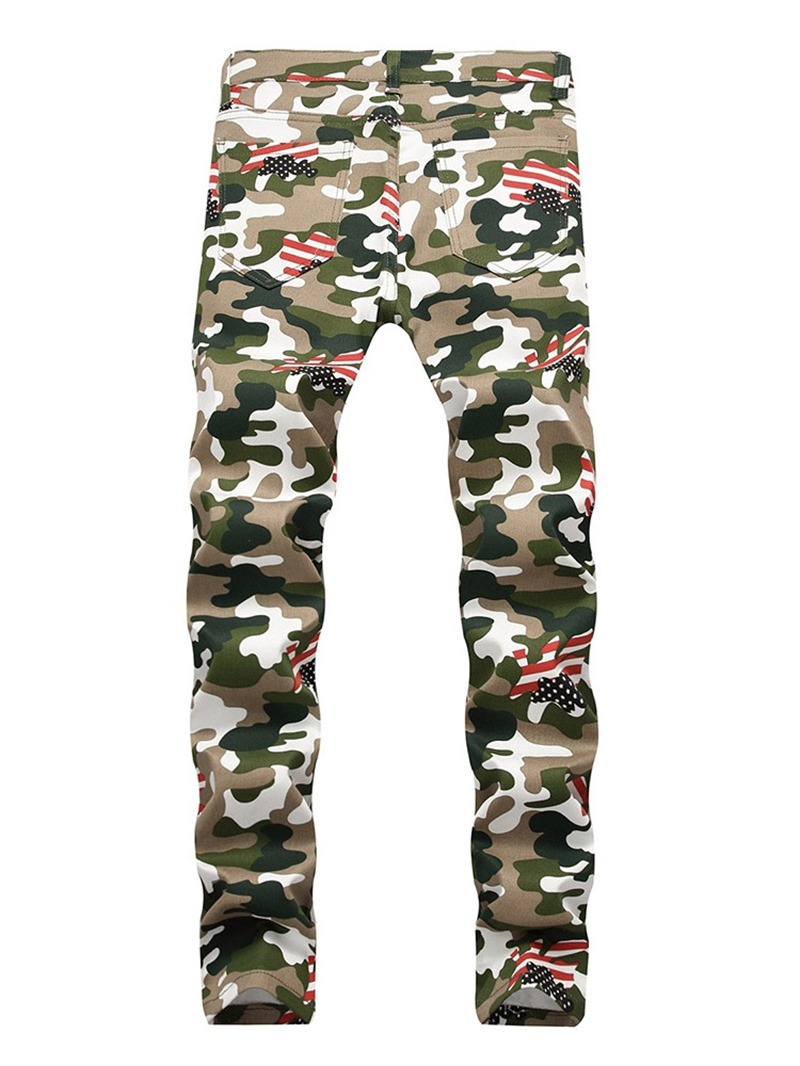 Ericdress Men's Camouflage Casual Jeans