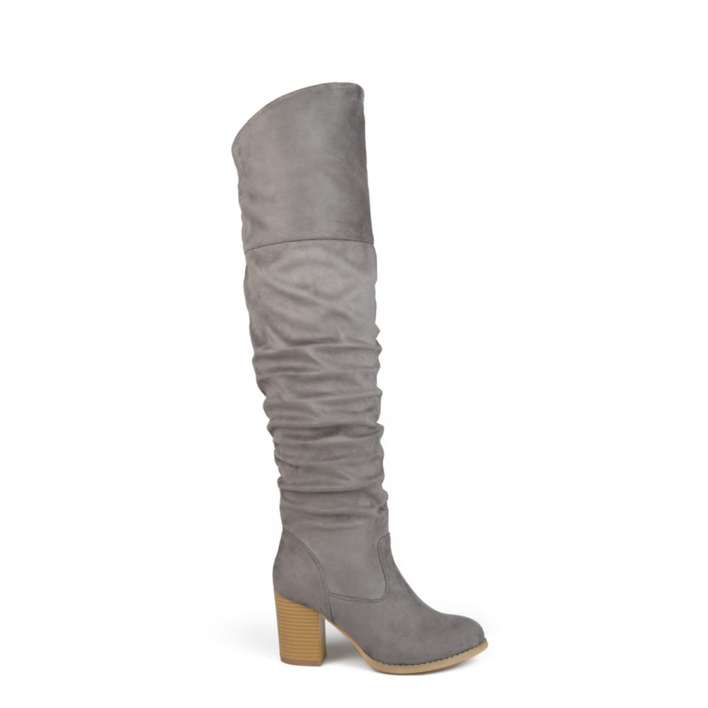 Journee Collection Womens Kaison Wide Calf Over The Knee Boot