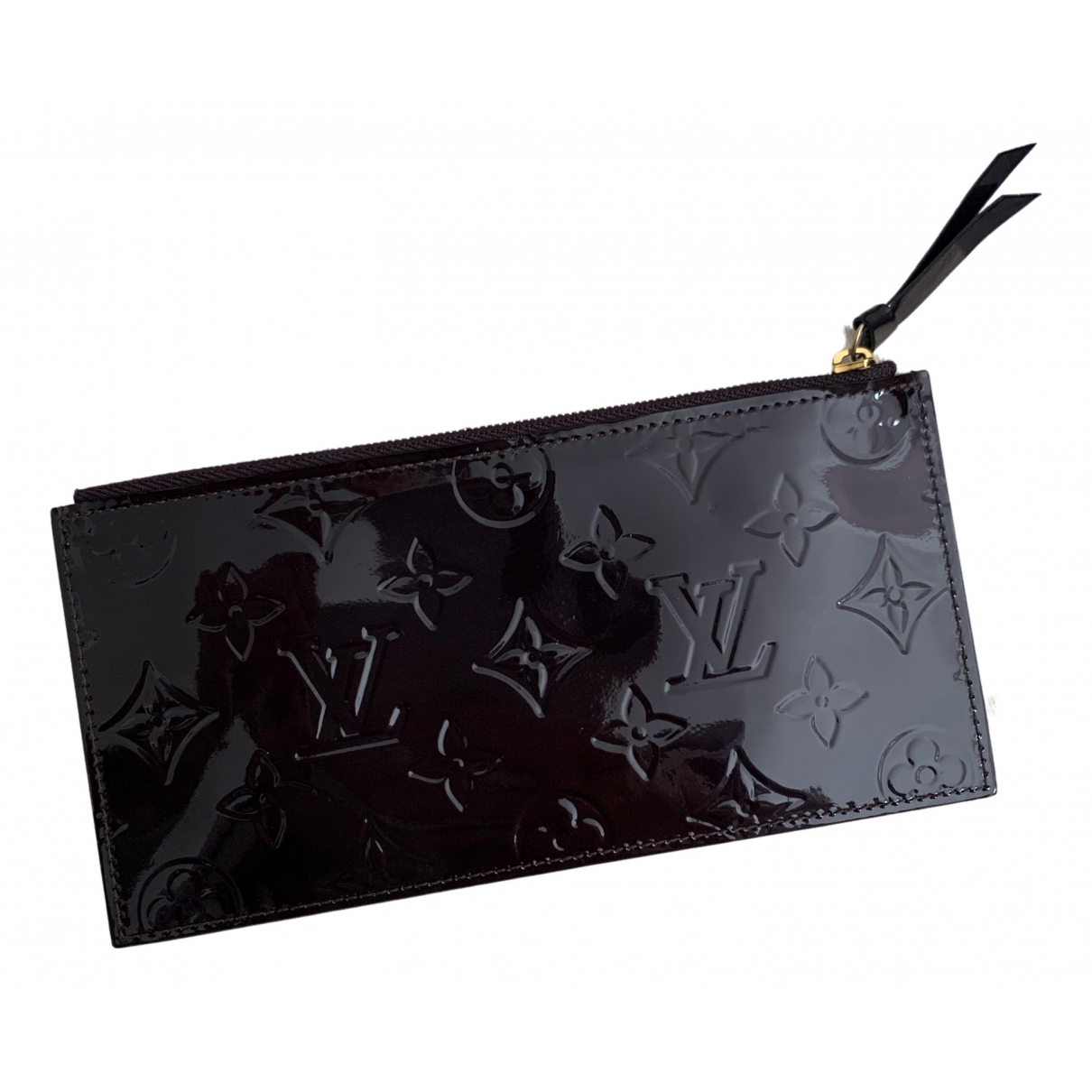 Louis Vuitton \N Burgundy Patent leather Clutch bag for Women \N