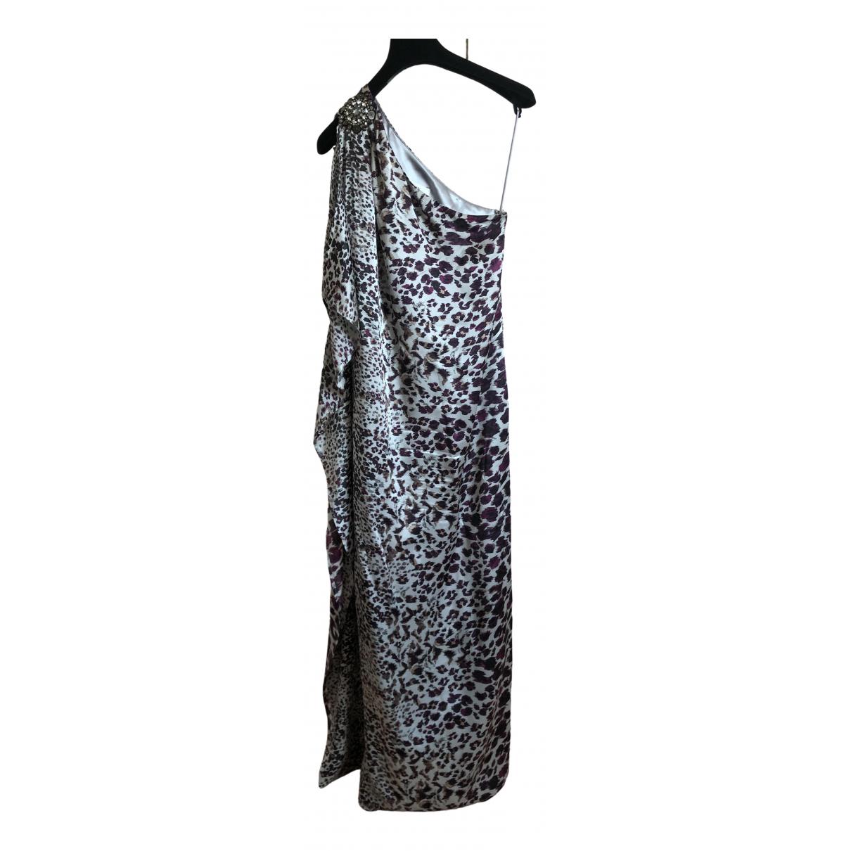 Badgley Mischka \N Kleid in  Bunt Seide