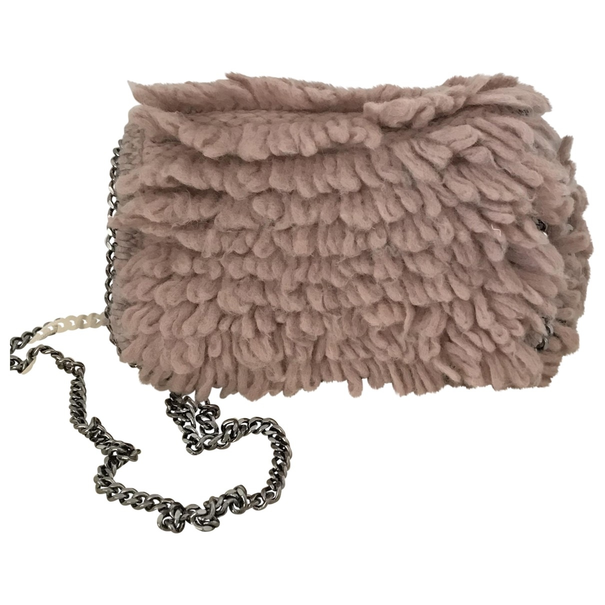 Stella Mccartney \N Pink Wool Clutch bag for Women \N