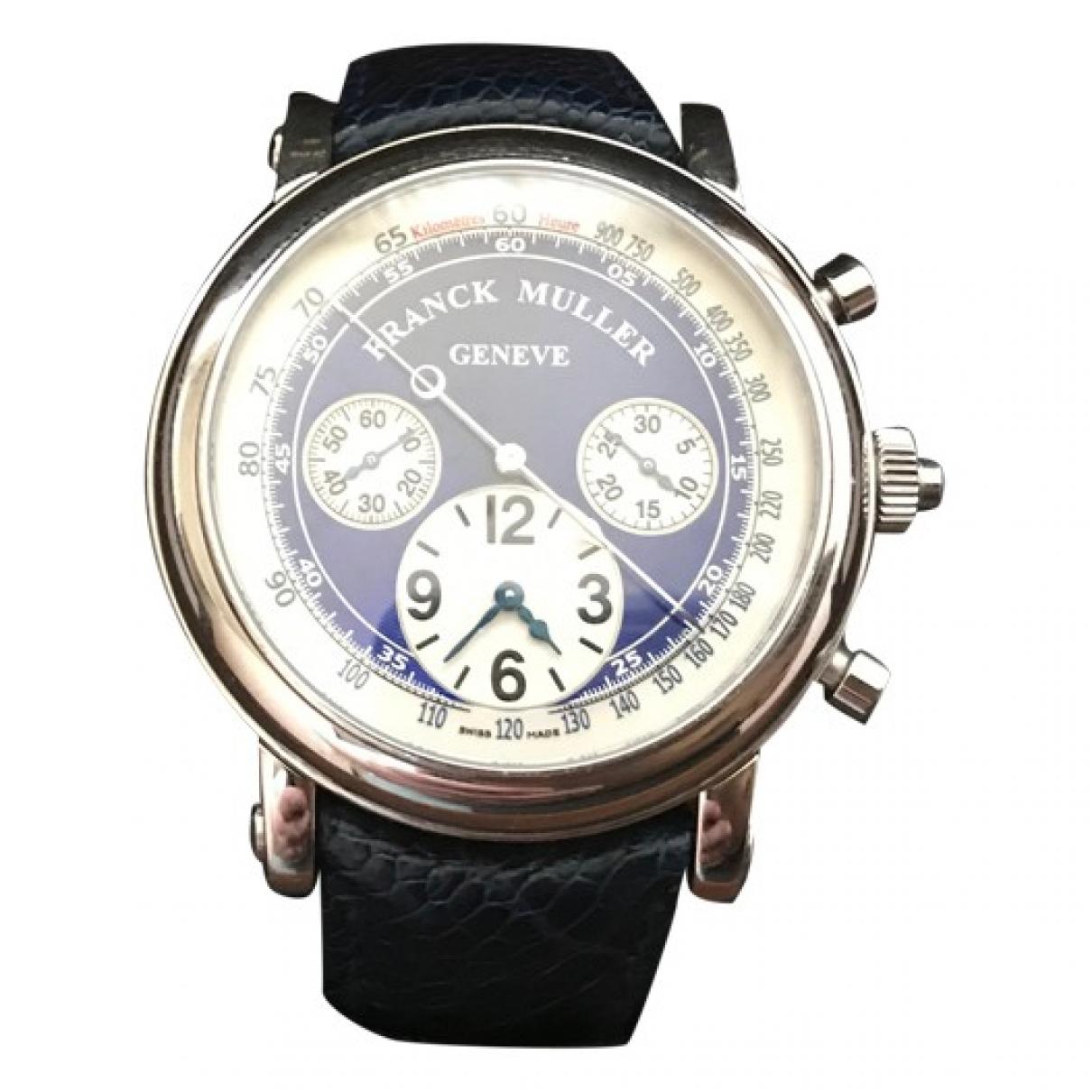 Franck Muller \N Uhr in  Silber Weissgold