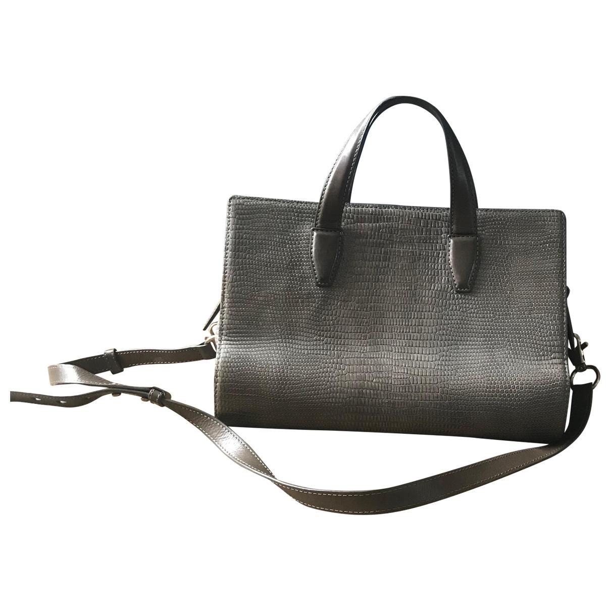 Alexander Wang \N Beige Leather handbag for Women \N