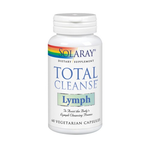 Total Cleanse Lymph 60 Veg Caps by Solaray