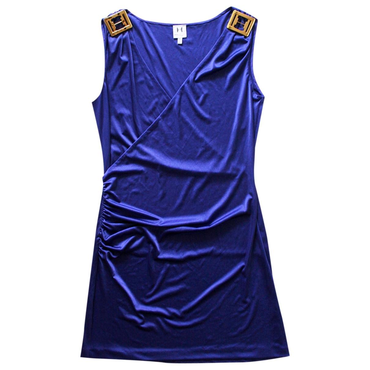 Halston Heritage \N Kleid in  Lila Polyester