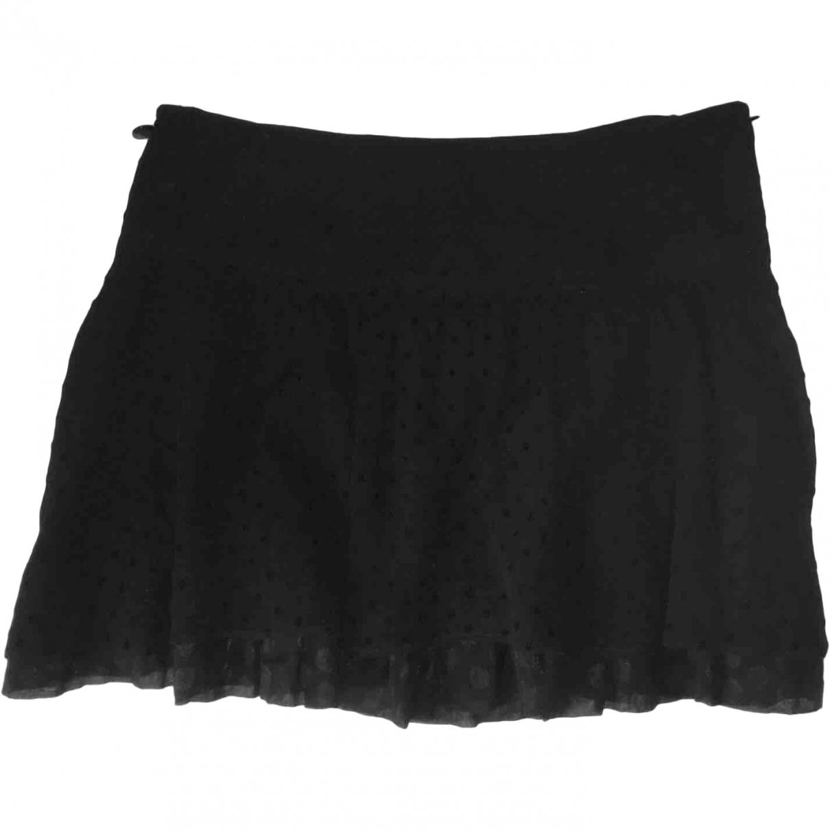 Liu.jo \N Black Silk skirt for Women 46 IT