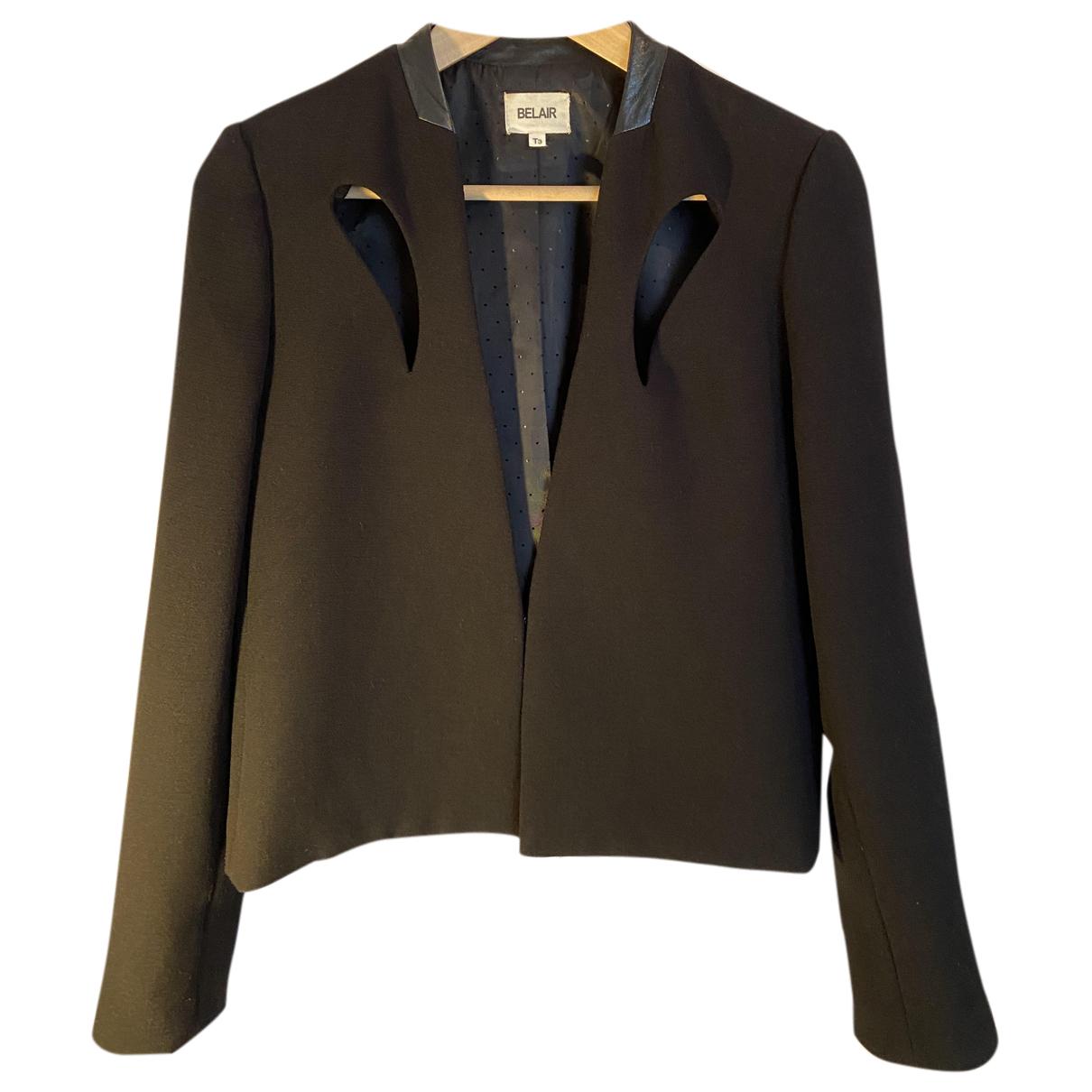 Bel Air N Black Wool jacket for Women 40 FR