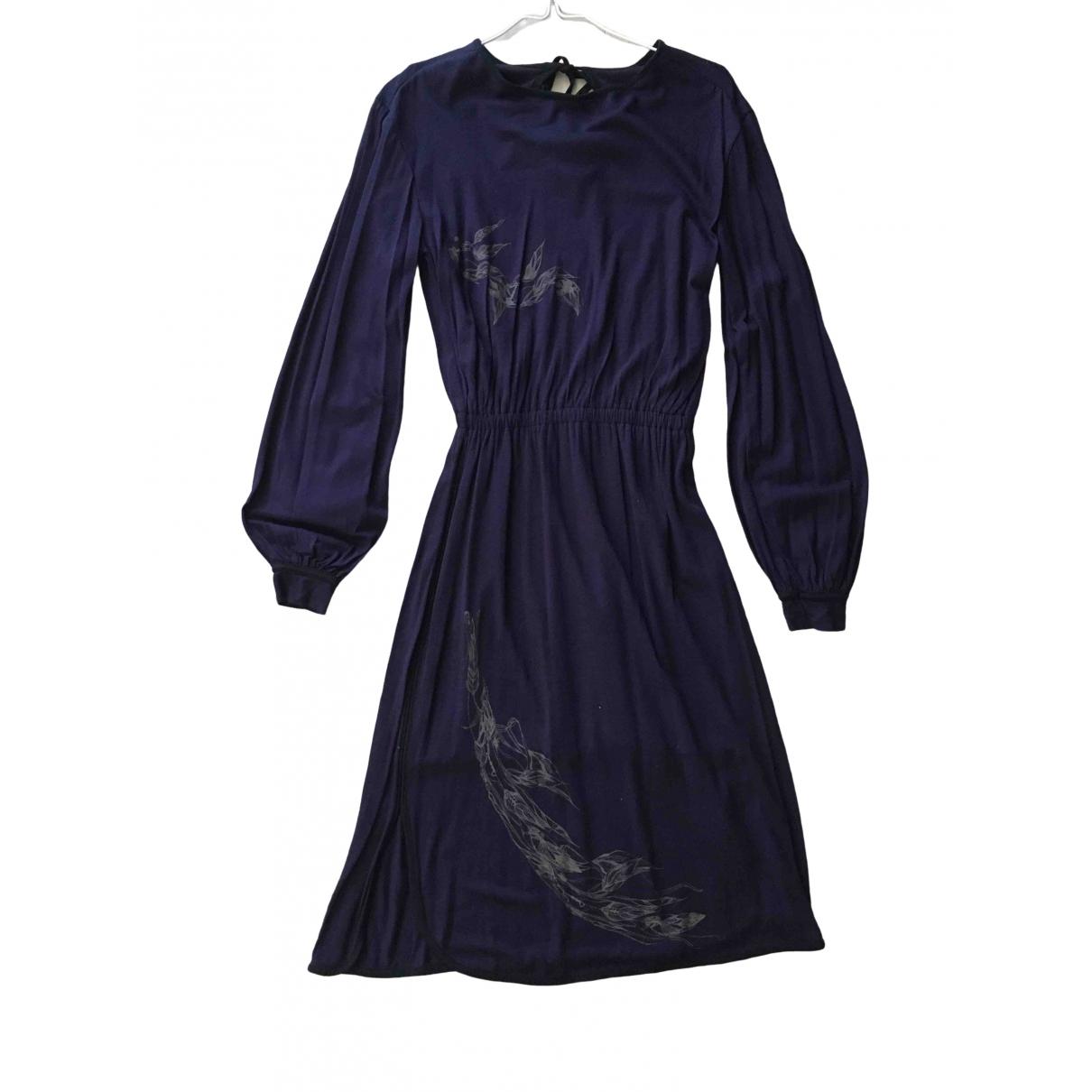 Diesel \N Kleid in  Lila Baumwolle - Elasthan