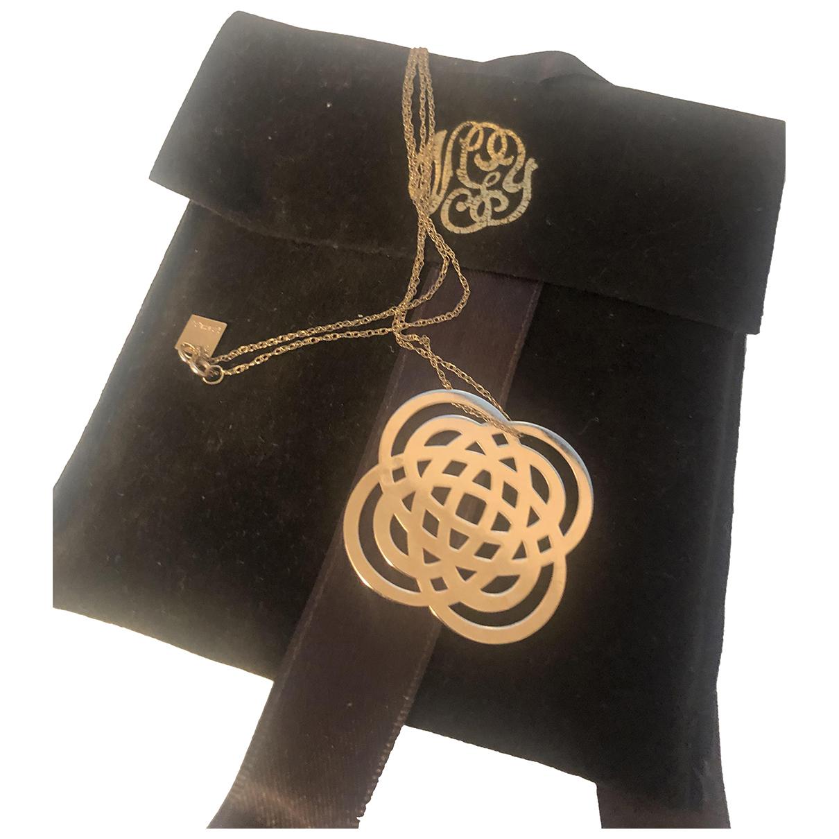 Collar Purity de Oro amarillo Ginette Ny