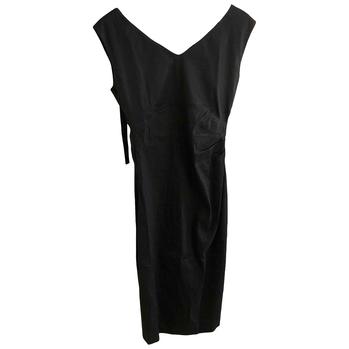 Twin Set \N Black Linen dress for Women S International