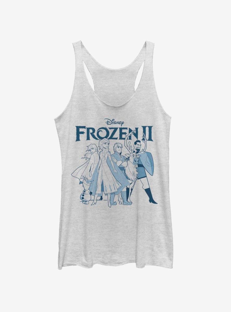 Disney Frozen 2 Adventurers Womens Tank Top