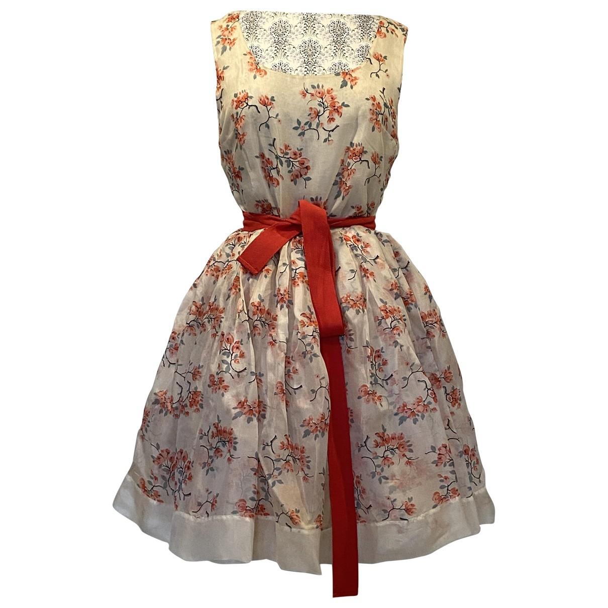 Mini vestido de Seda Red Valentino Garavani