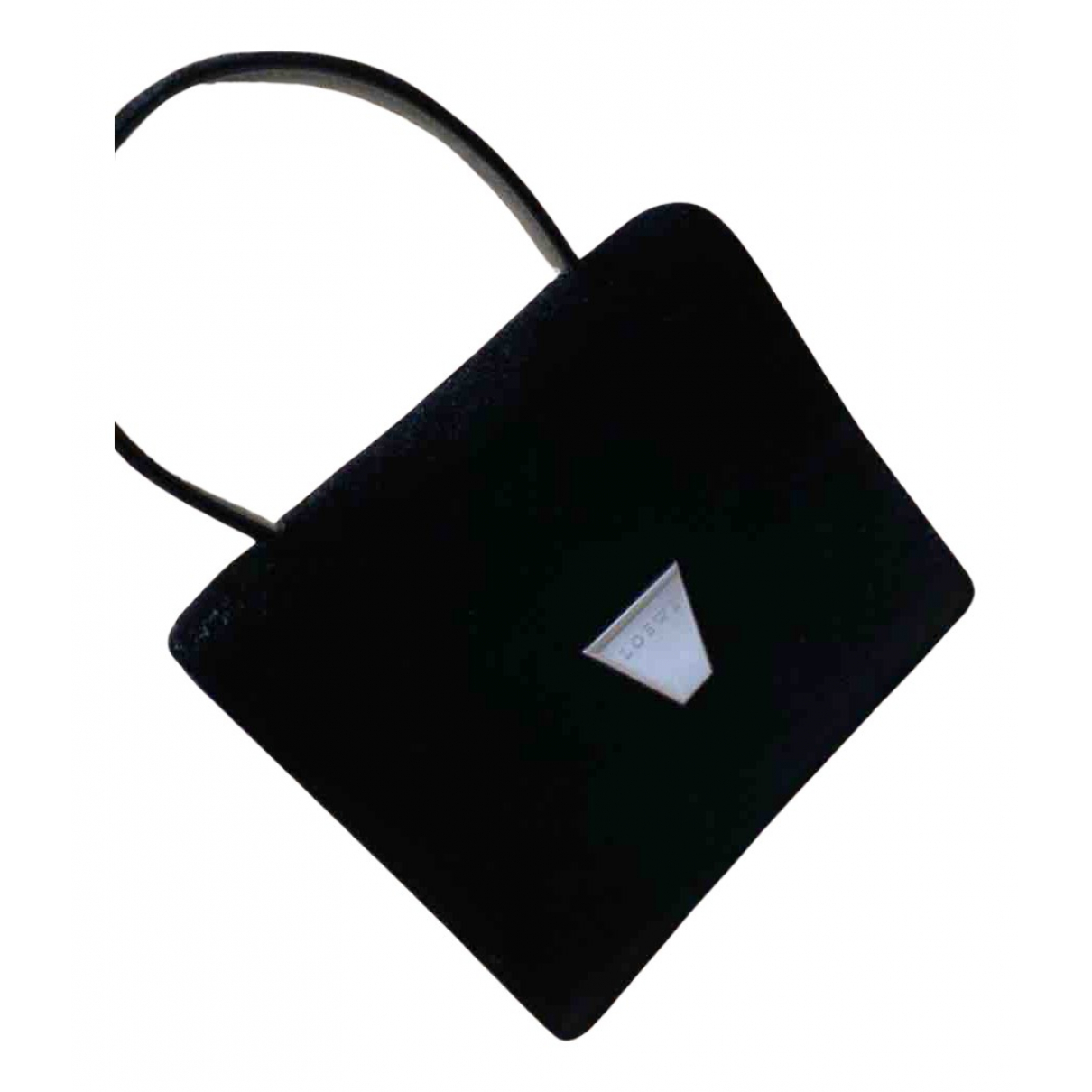Loewe N Black Suede Clutch bag for Women N