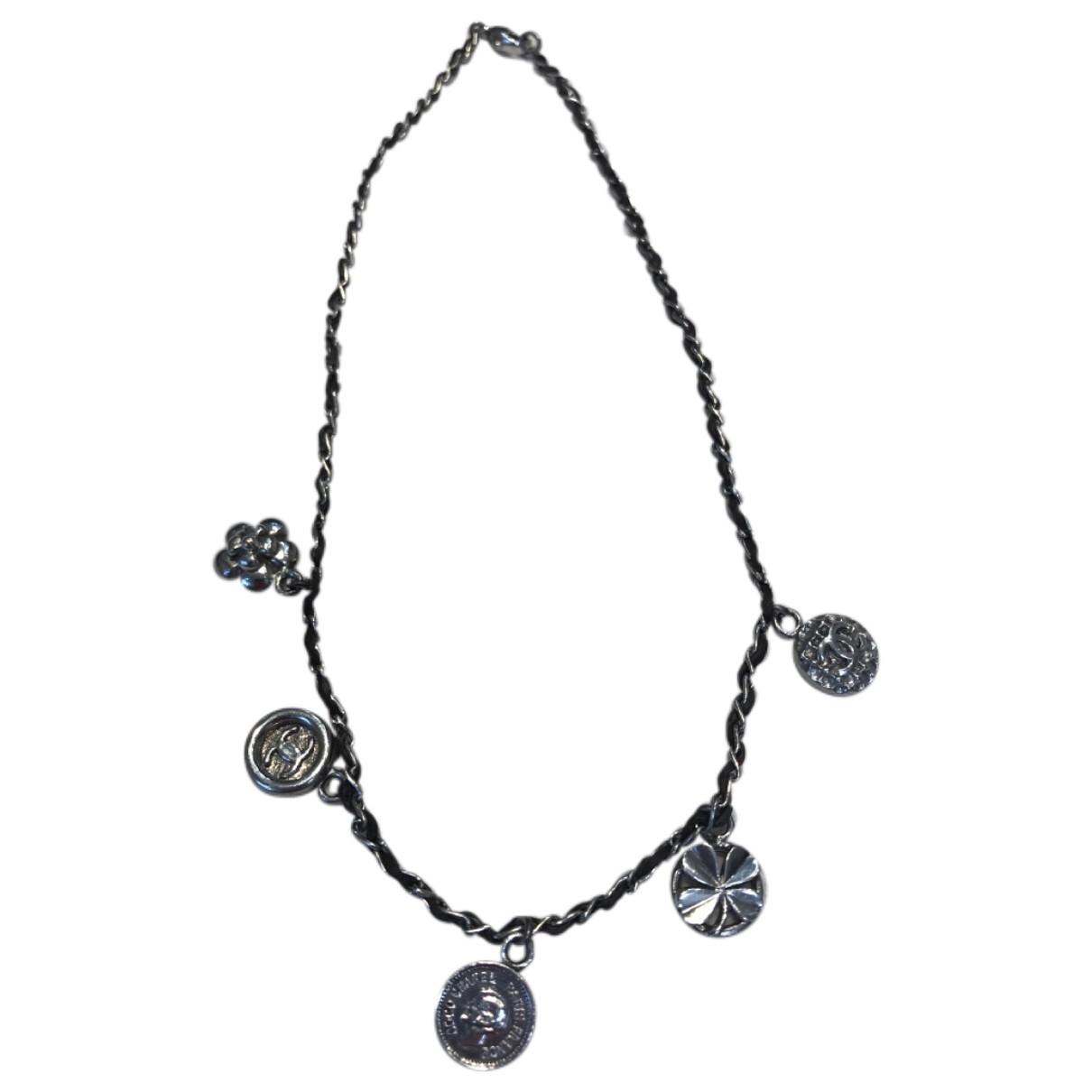 Chanel - Collier   pour femme en metal - marron