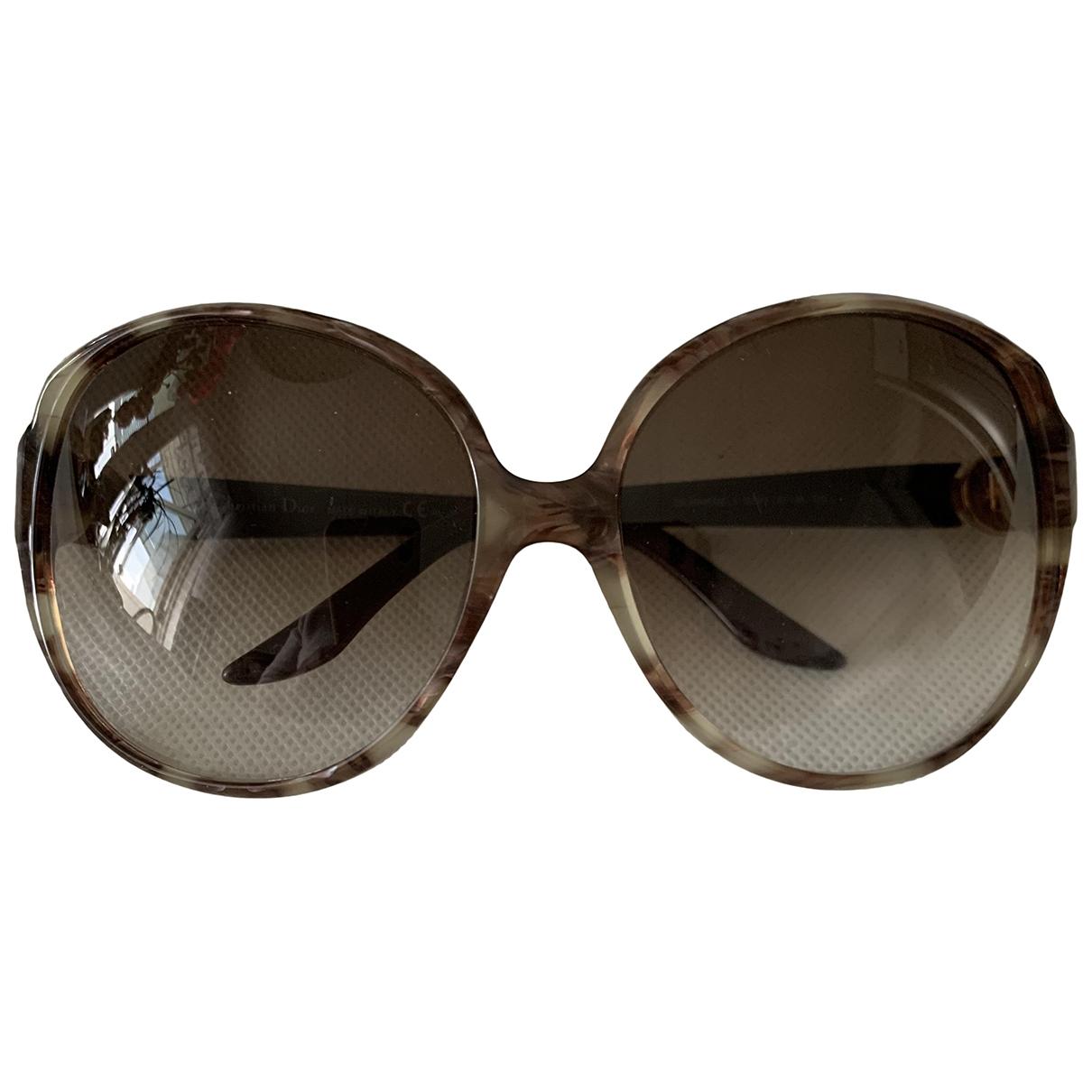 Dior \N Brown Sunglasses for Women \N