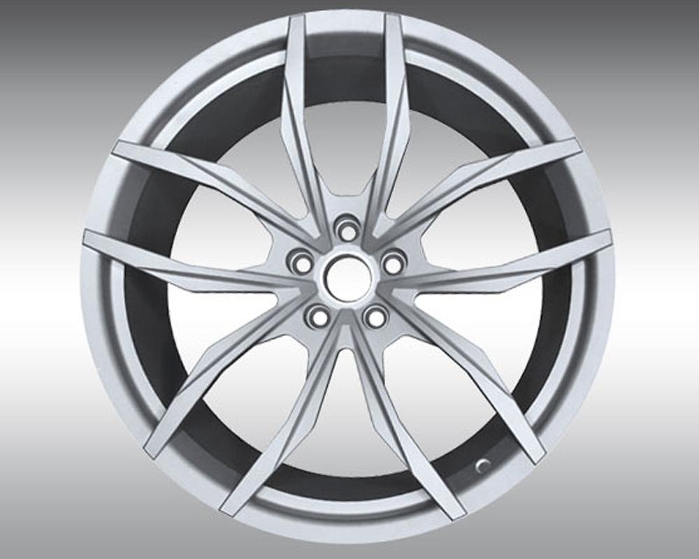 Novitec C4 720 20 MC1 Forged 12x21 Silver Rear Wheel McLaren 720s 17-19