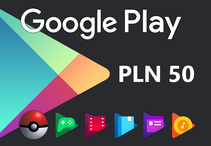 Google Play PLN 50 PL Gift Card