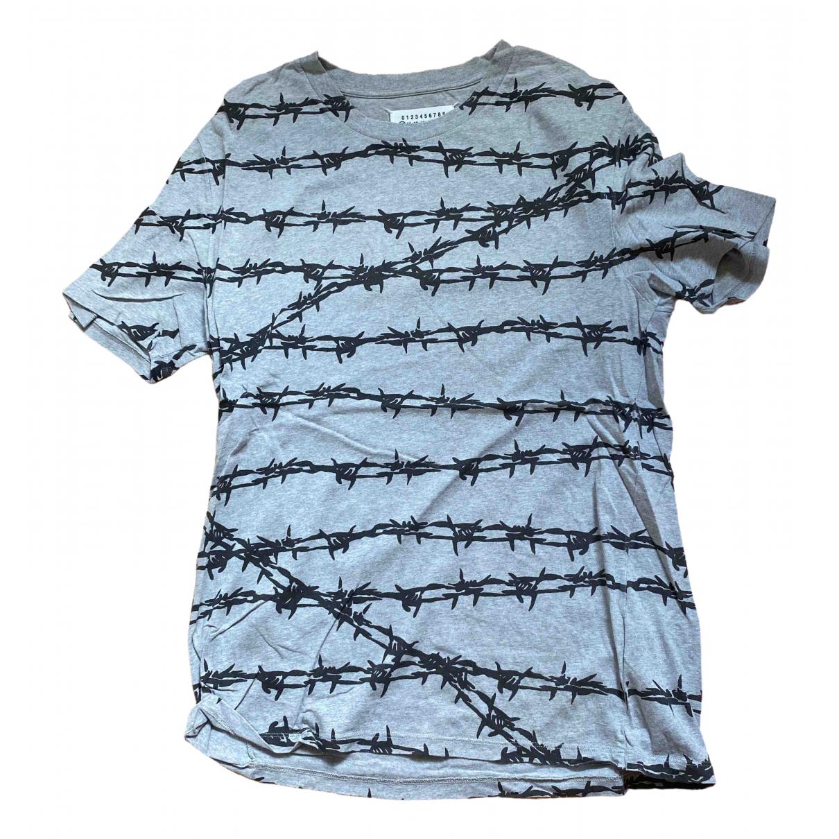 Maison Martin Margiela - Tee shirts   pour homme en coton - gris