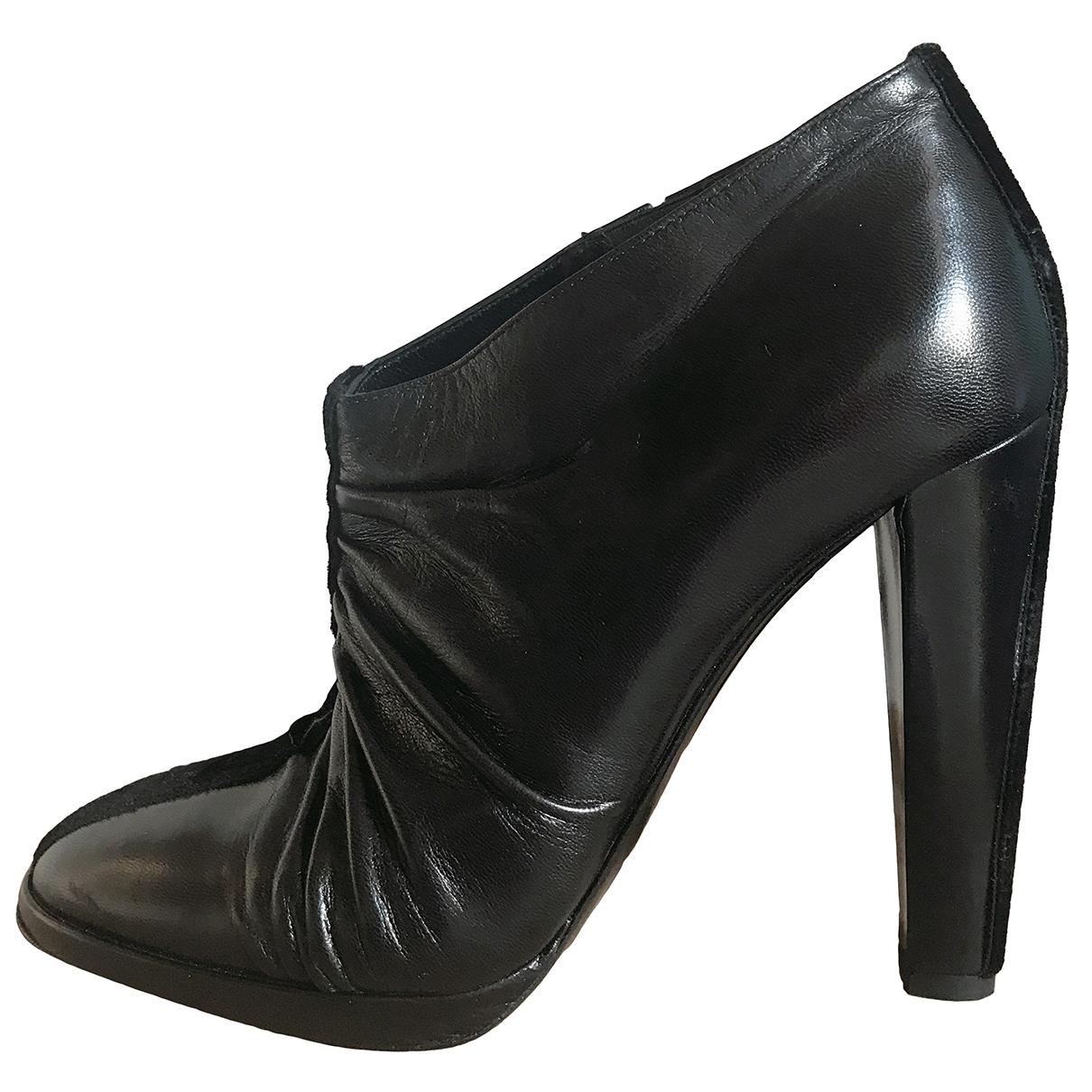 Pierre Hardy - Escarpins   pour femme en cuir - noir
