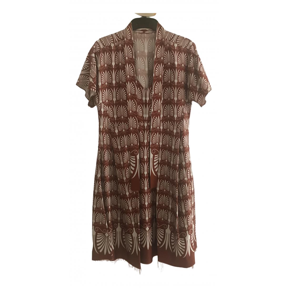 Marni \N Kleid in  Braun Synthetik