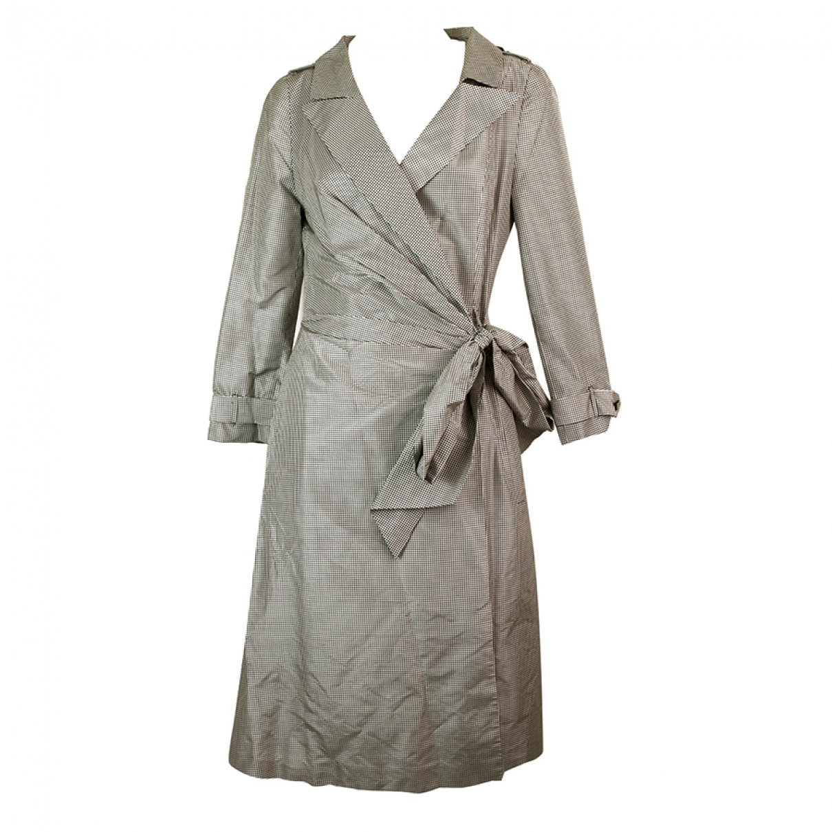 Talbot Runhof - Robe   pour femme en soie - gris