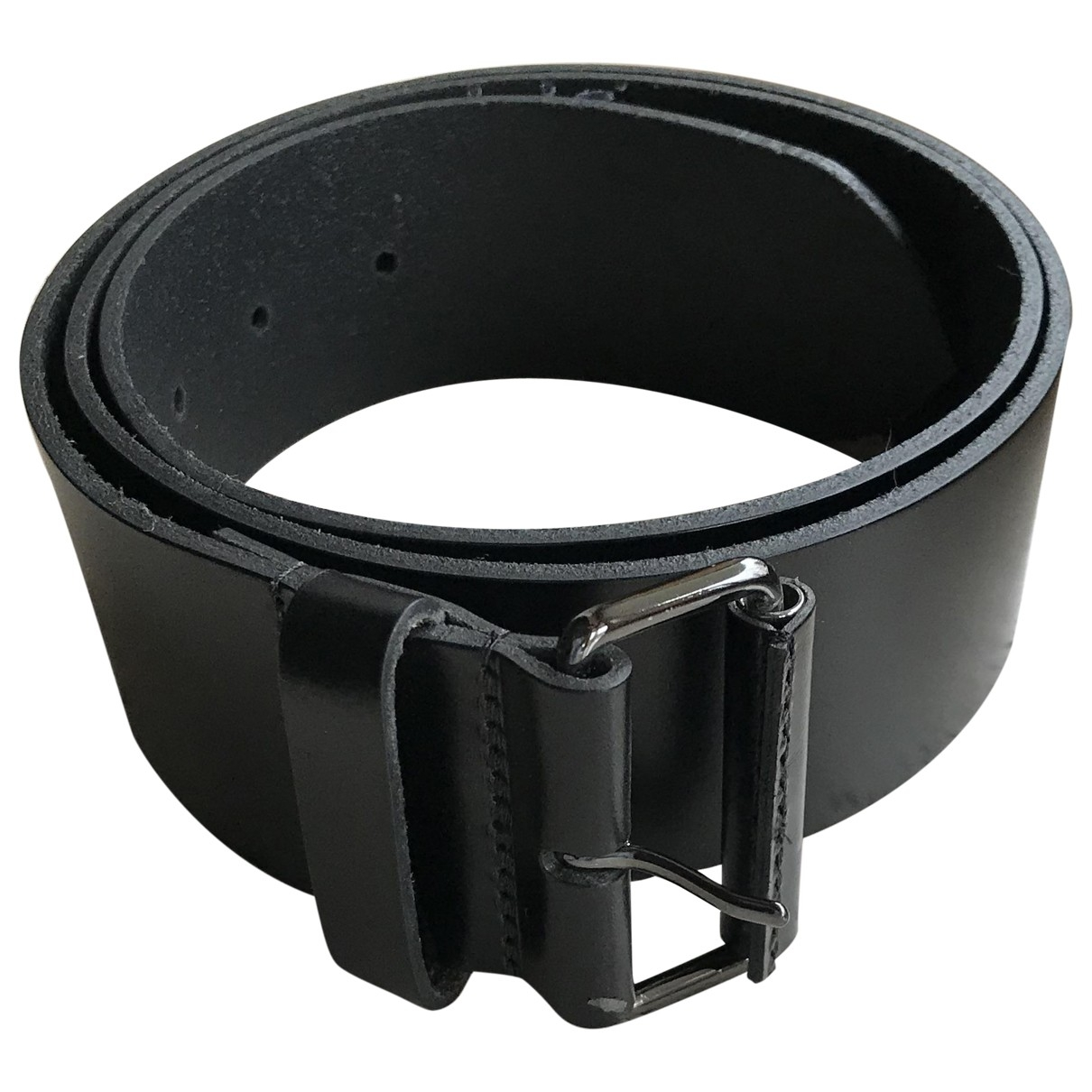 Burberry \N Black Leather belt for Women 95 cm