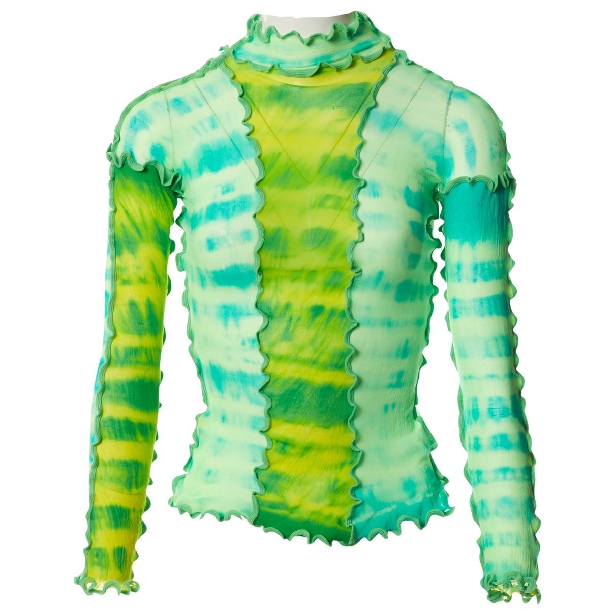 Asai \N Green  top for Women One Size FR