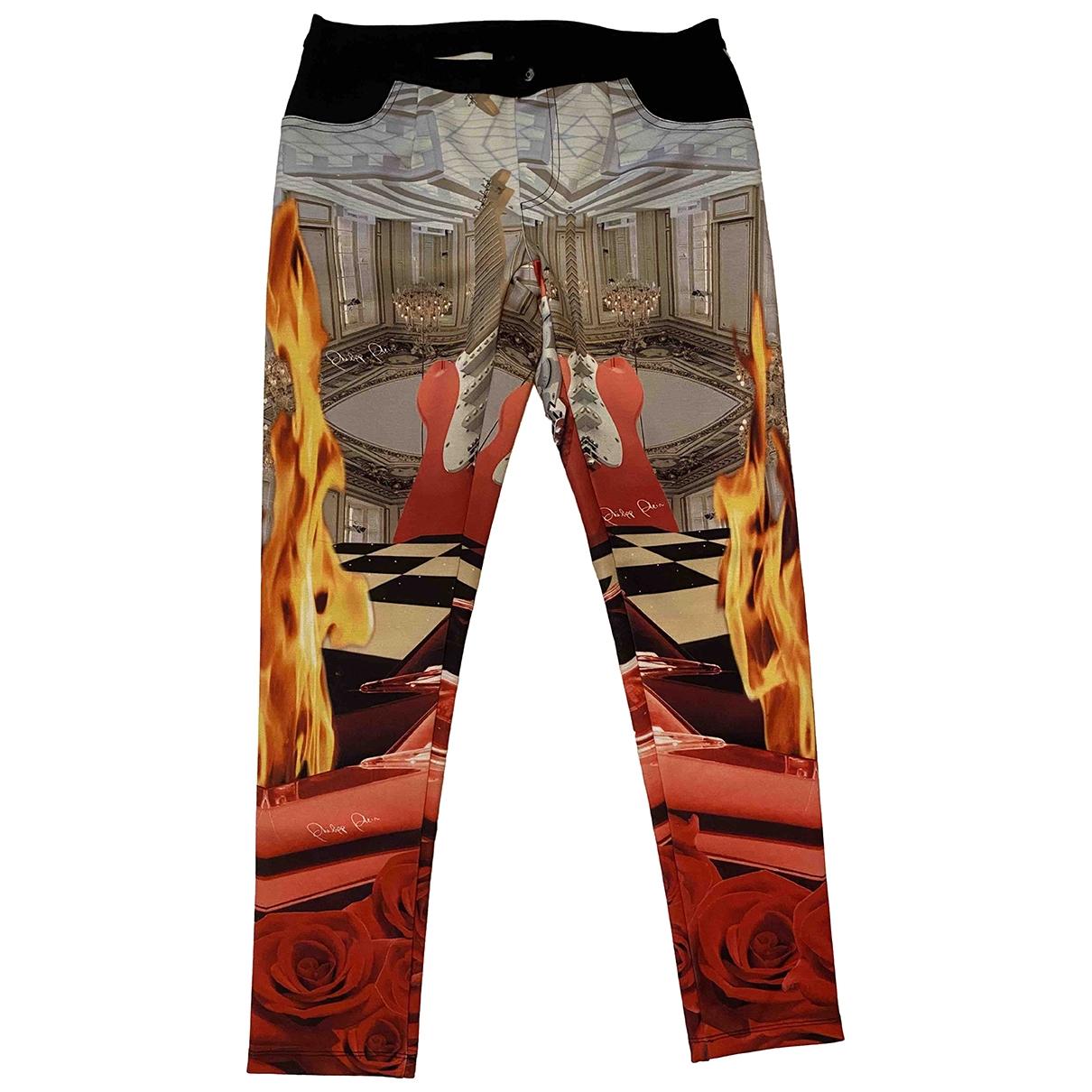 Philipp Plein \N Multicolour Trousers for Women M International