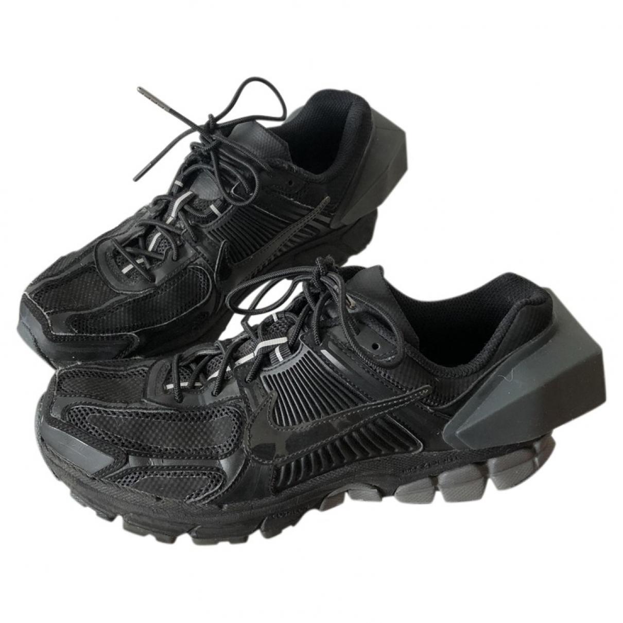 Nike X A-cold-wall - Baskets   pour homme en toile - noir