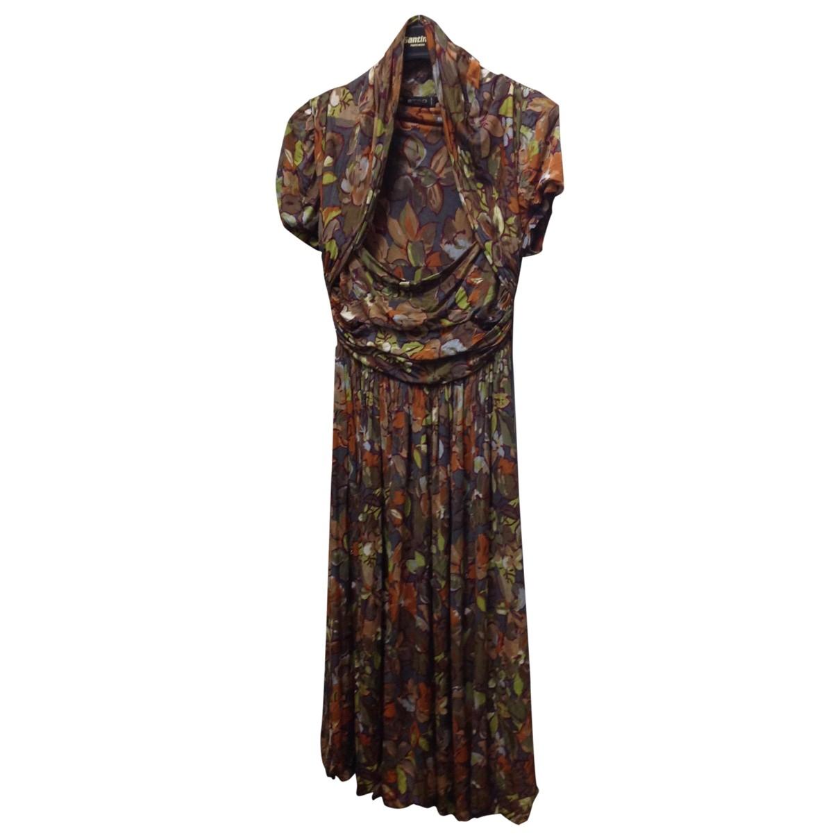 Etro \N Kleid in  Gruen Viskose