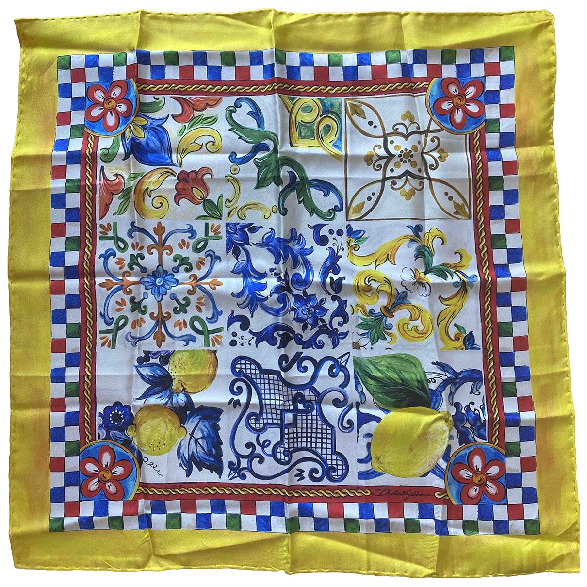 Pañuelo de Seda Dolce & Gabbana