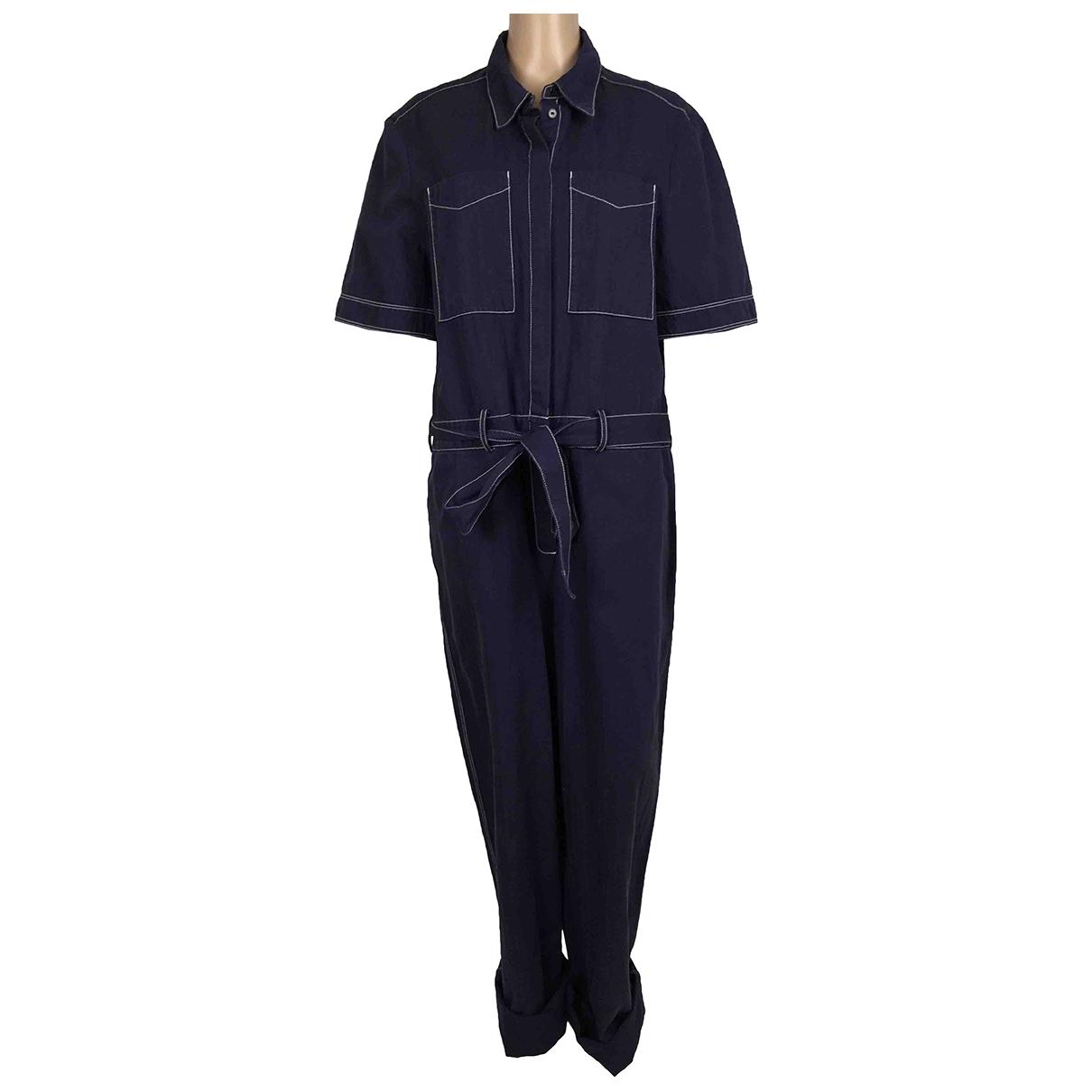 Burberry \N Jumpsuit in  Blau Baumwolle