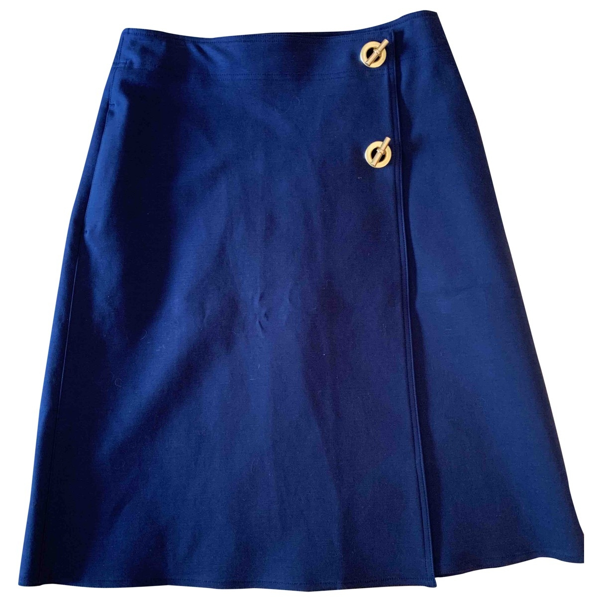 Tory Burch \N Navy Cotton - elasthane skirt for Women 6 US