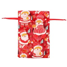 2pcs Random Christmas Pattern Candy Bag