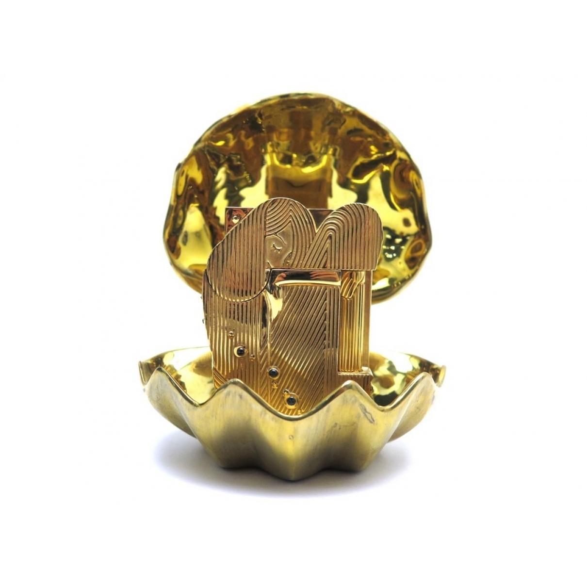 S.t. Dupont - Objets & Deco   pour lifestyle en plaque or - dore