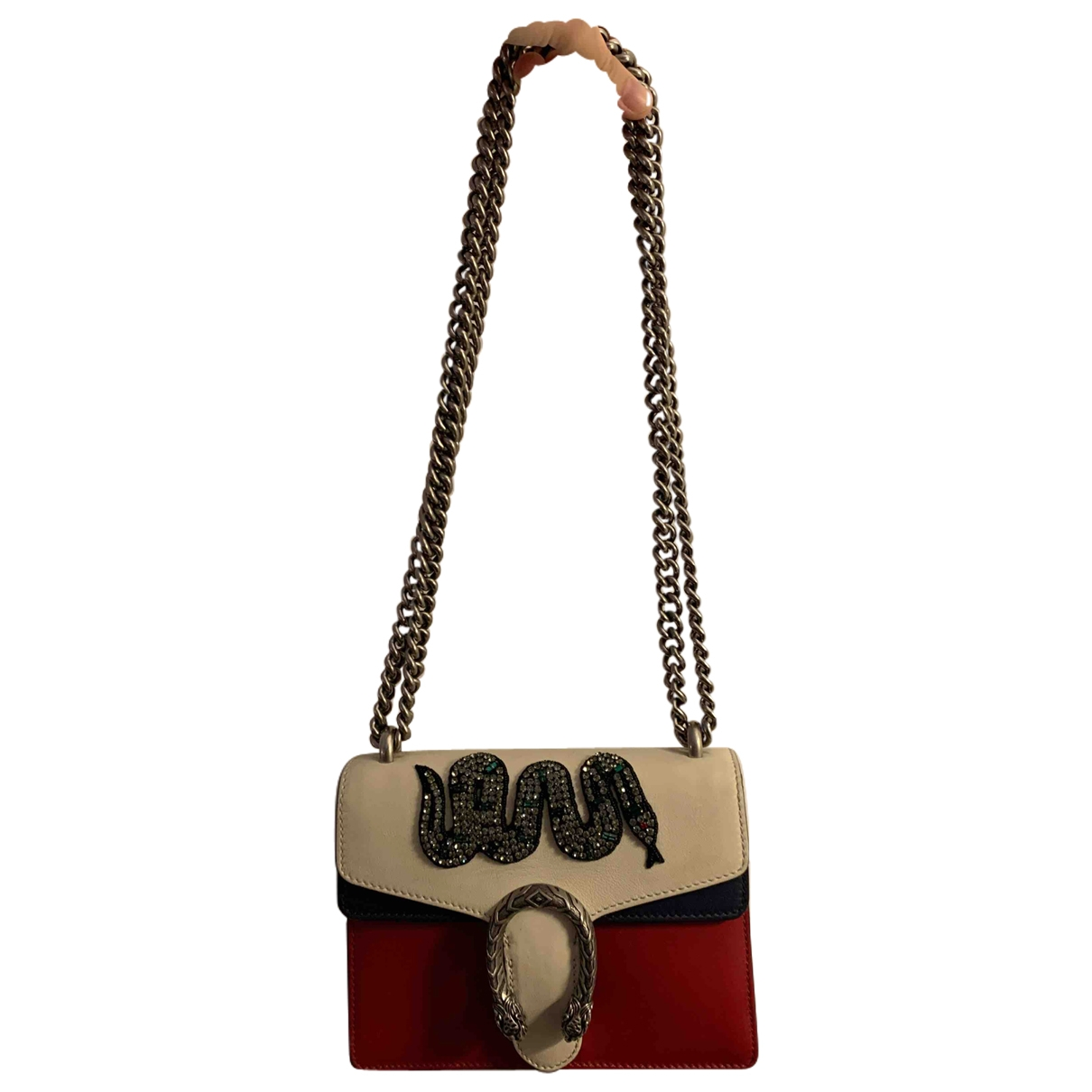 Gucci Dionysus White Leather handbag for Women \N
