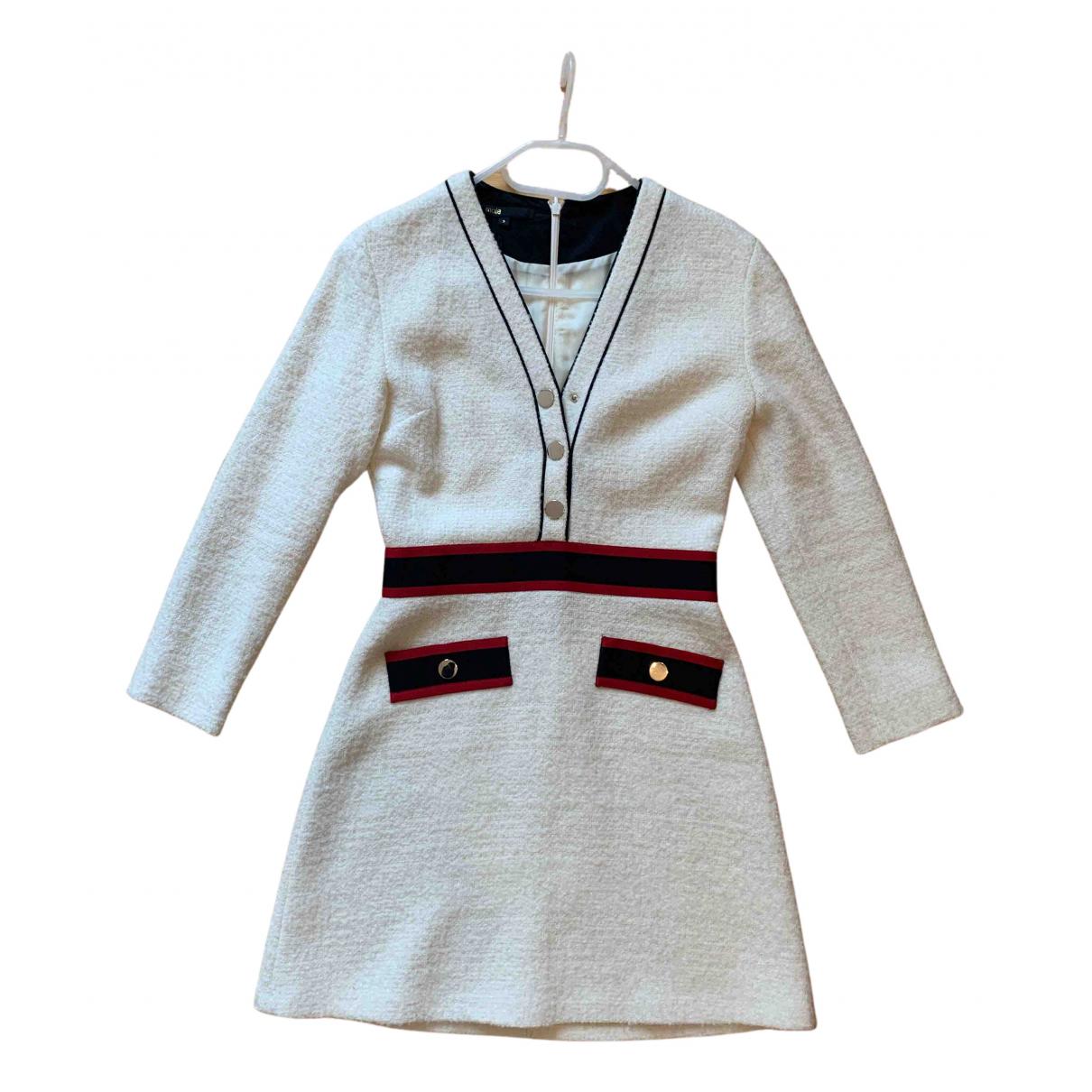 Maje Fall Winter 2019 Wool dress for Women 38 FR