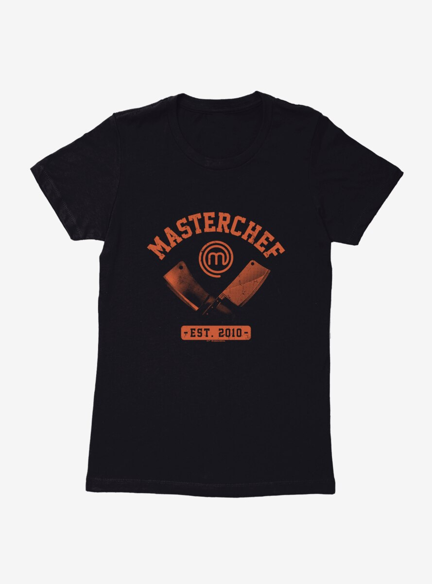 Master Chef Established 2010 Knives Womens T-Shirt