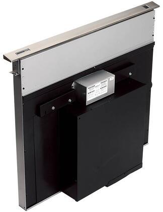 Elite Rangemaster RMDD4804EX 48 Inch Downdraft Ventilation System with Internal or External Blower Options  Heat Sentry  Infinitely Adjustable