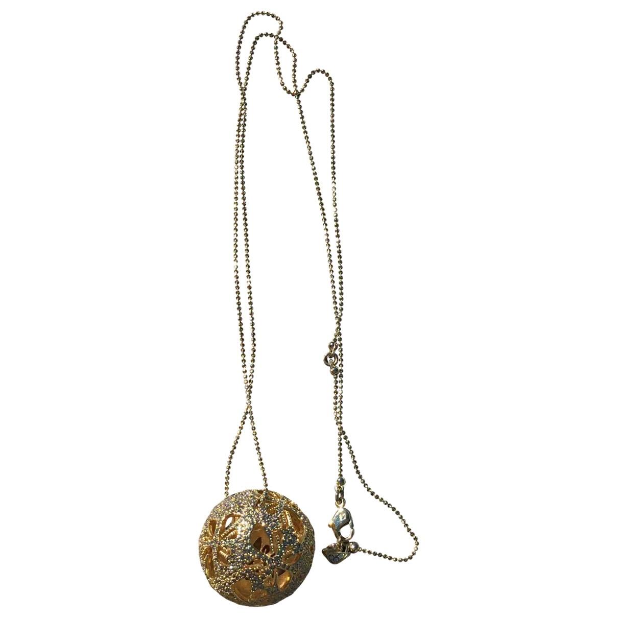 Swarovski \N Gold Metal Long necklace for Women \N