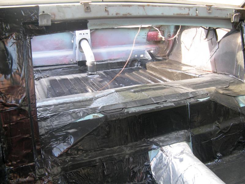 Hushmat 617464 Trunk Custom Insulation Kit Cadillac Fleetwood 1966-1970