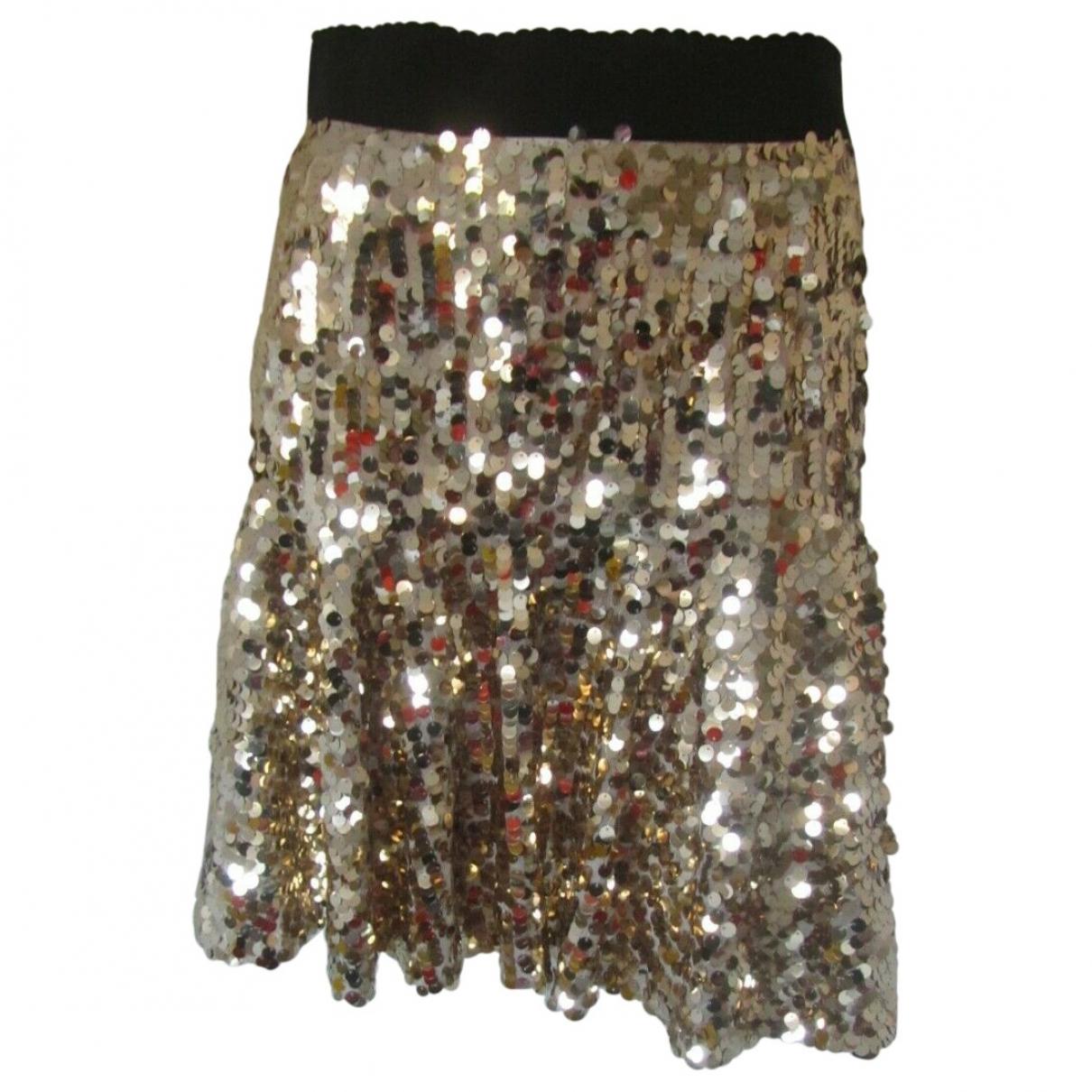 Dolce & Gabbana - Jupe   pour femme - metallise