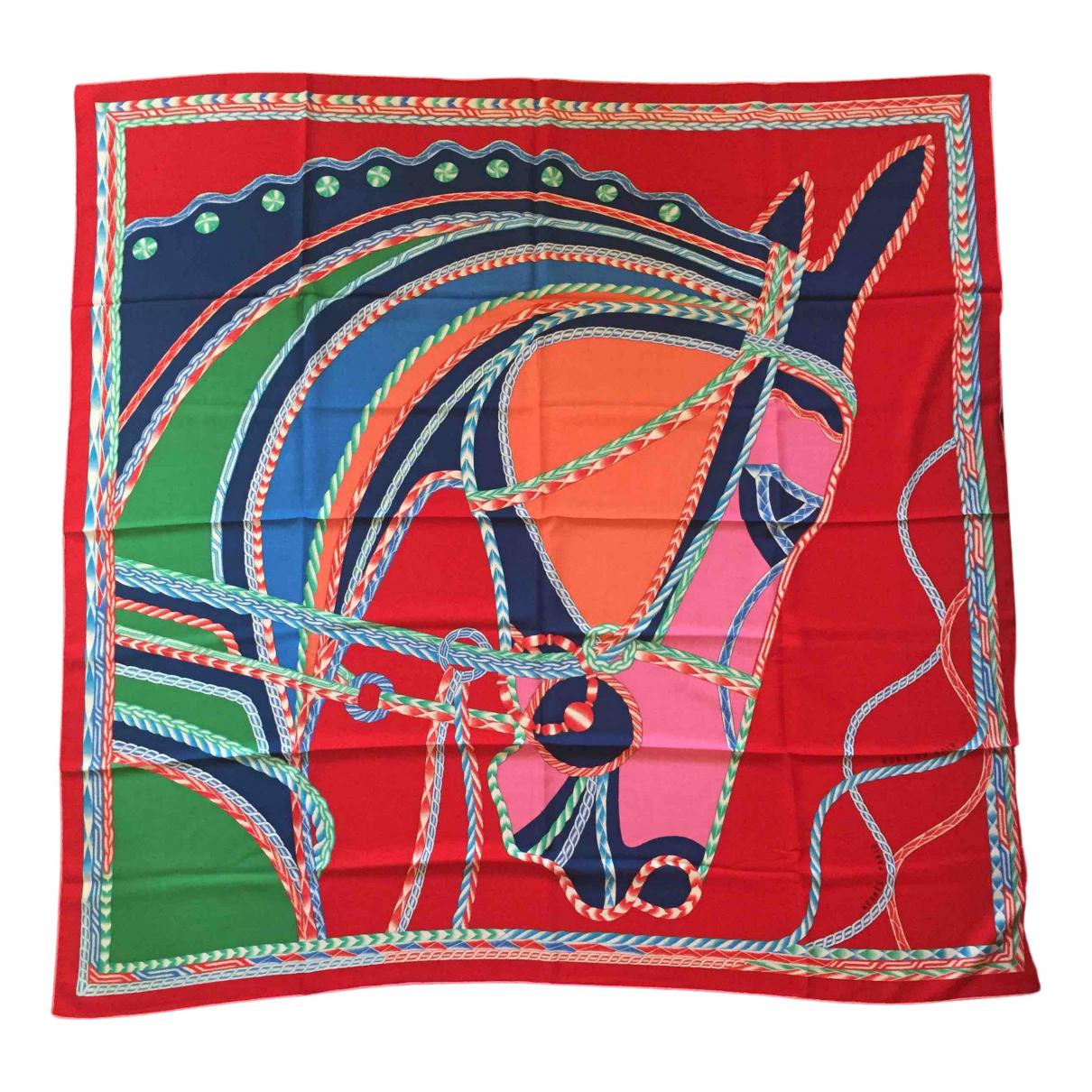 Hermes - Foulard Chale 140 pour femme en cachemire - multicolore