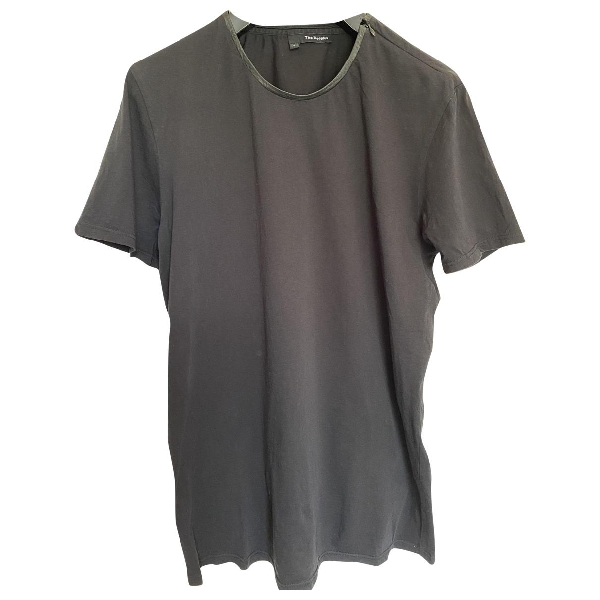 The Kooples \N Black Cotton T-shirts for Men S International