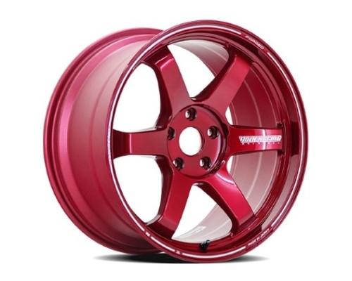 Volk Racing WVDUAX55LHR TE37 Ultra Large PCD Wheel 20x9.5 5x150 55mm Hyper Red
