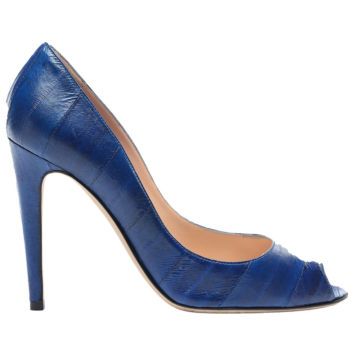 Sergio Rossi \N Pumps in  Blau Aal