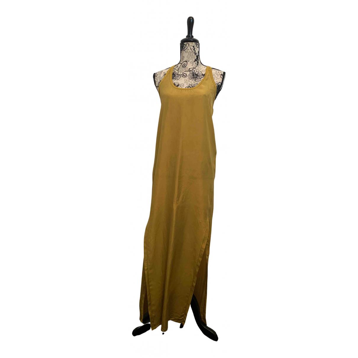Damir Doma - Robe   pour femme en soie - kaki