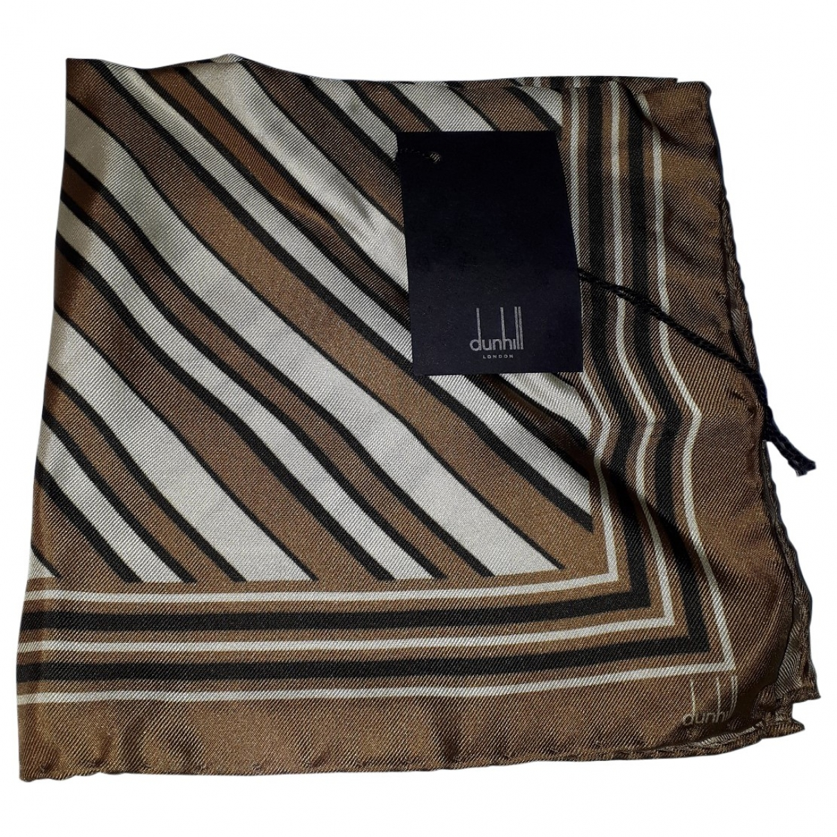 Alfred Dunhill \N Multicolour Silk scarf & pocket squares for Men \N