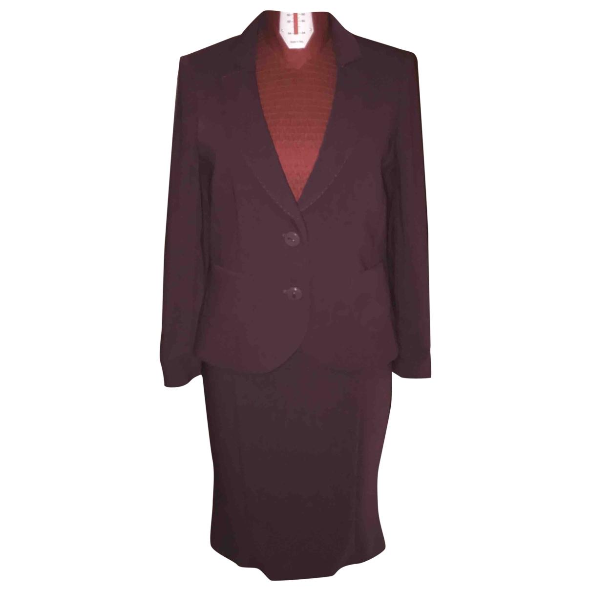 Mariella Rosati \N Burgundy jacket for Women 48 IT